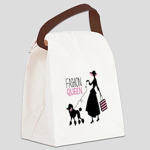 Fashion Queen Canvas Lunch Bag