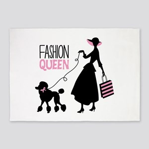 Fashion Queen 5'x7'Area Rug