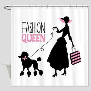 Fashion Queen Shower Curtain