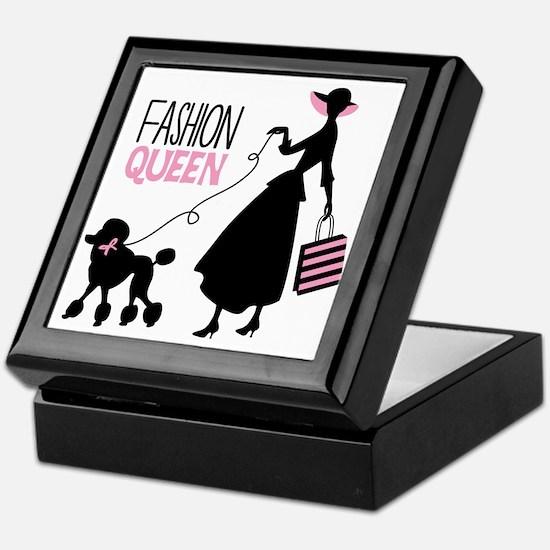 Fashion Queen Keepsake Box