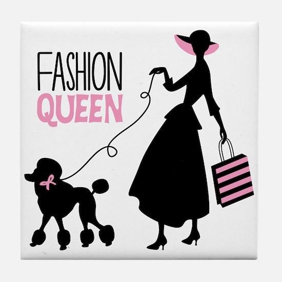 Fashion Queen Tile Coaster