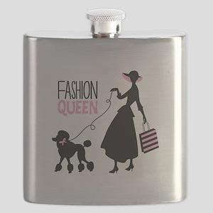 Fashion Queen Flask