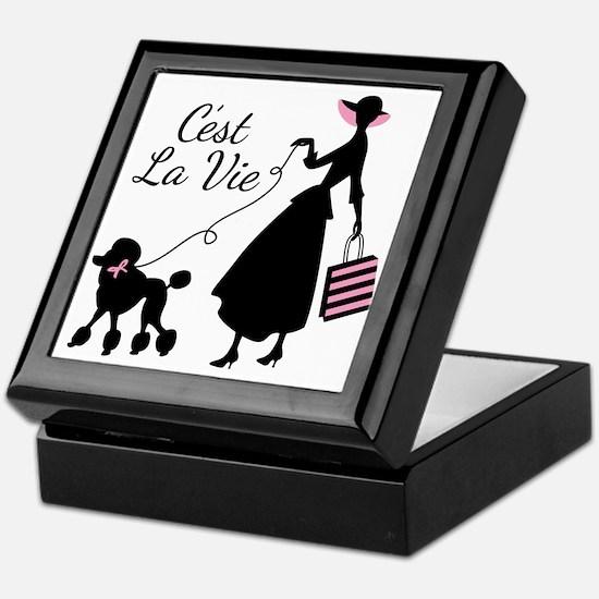 Cest La Vie Keepsake Box