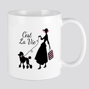 Cest La Vie Mugs