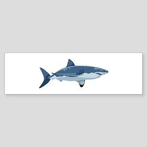 Great White Shark Bumper Sticker