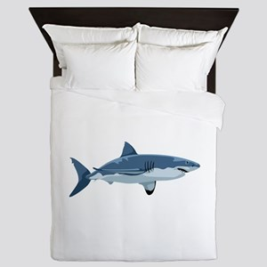 Great White Shark Queen Duvet