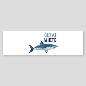 Great White Bumper Sticker