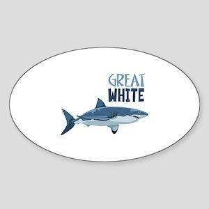 Great White Sticker