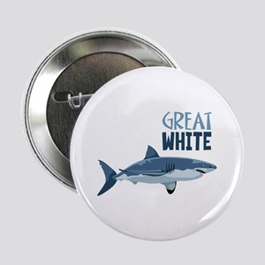 "Great White 2.25"" Button"