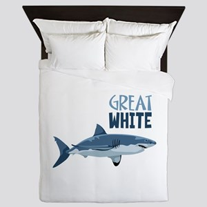Great White Queen Duvet