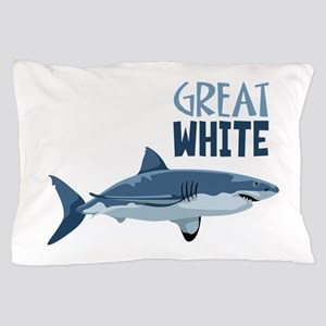 Great White Pillow Case