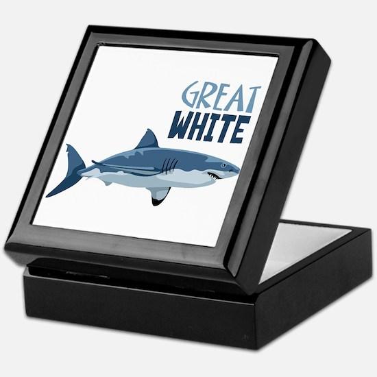 Great White Keepsake Box