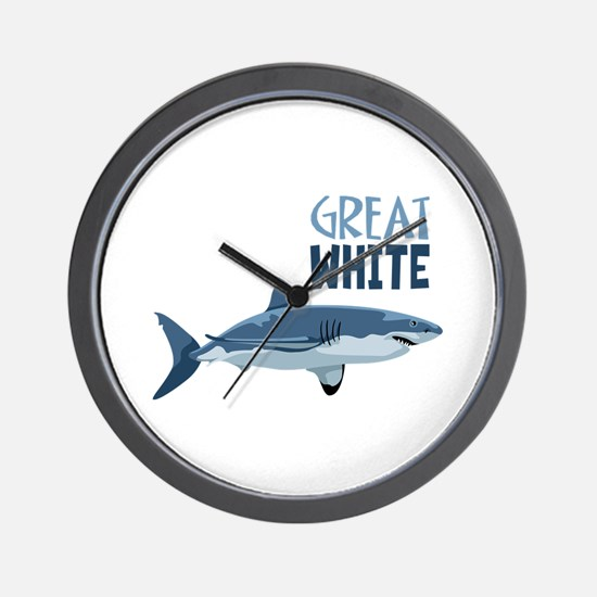 Great White Wall Clock