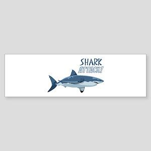 Shark Attack! Bumper Sticker
