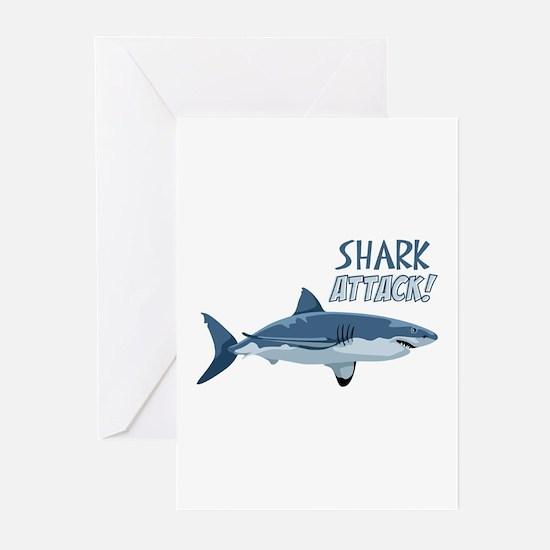 Shark Attack! Greeting Cards