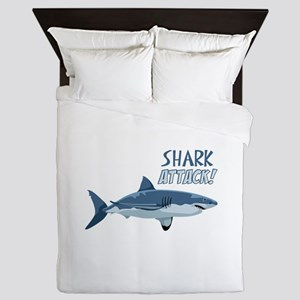 Shark Attack! Queen Duvet