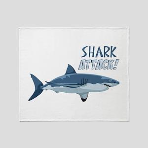 Shark Attack! Throw Blanket