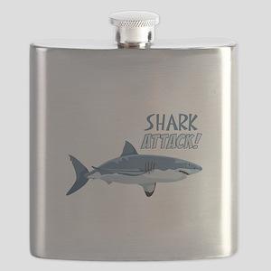 Shark Attack! Flask