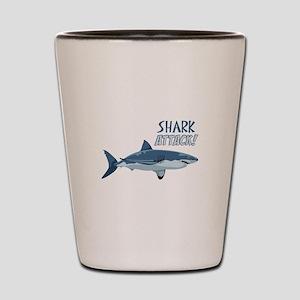 Shark Attack! Shot Glass