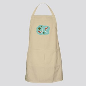 Koi Fish Pond Apron
