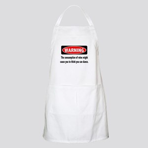 Wine Warning Apron