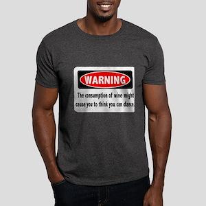 Wine Warning Dark T-Shirt