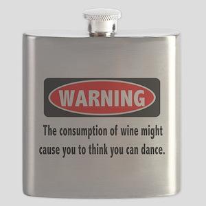 Wine Warning Flask