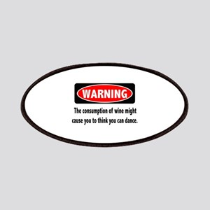 Wine Warning Patches