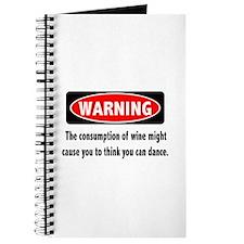 Wine Warning Journal