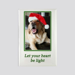 Let Your Heart Be Light Rectangle Magnet