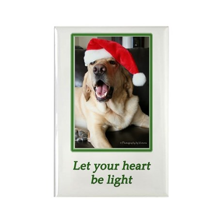Let Your Heart Be Light Rectangle Magnet (10 pack)