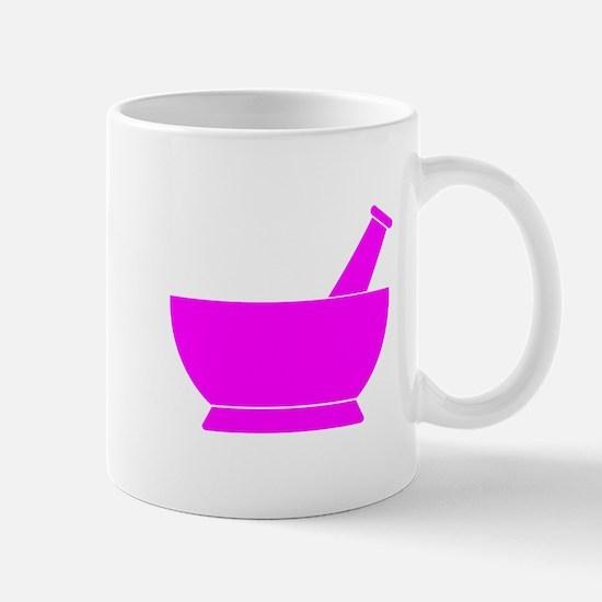 Pink Mortar and Pestle Mug