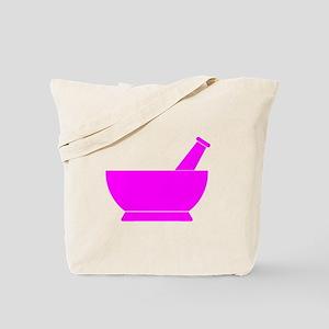 Pink Mortar and Pestle Tote Bag