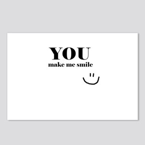 YouMakeMeSmile Postcards (Package of 8)