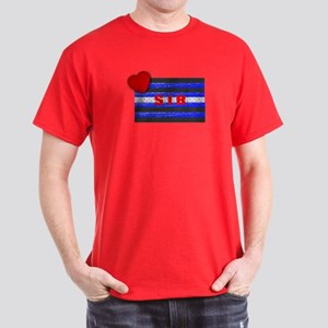 LEATHER PRIDE/SIR/BRICK Dark T-Shirt
