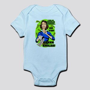 YOU KNOW YOU'RE FROM NEW MEXICO WH Infant Bodysuit