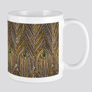Lady Curzon's Peacock dress Mugs