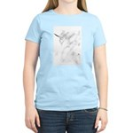 Unicorn in the Mist Women's Pink T-Shirt