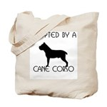 Adopted by a Cane Corso Tote Bag