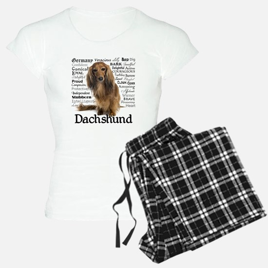 Dachshund Traits Pajamas