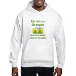 Martinis Hooded Sweatshirt