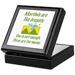 Martinis Keepsake Box