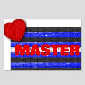 LEATHER PRIDE/MASTER/BRICK Postcards (Package of 8
