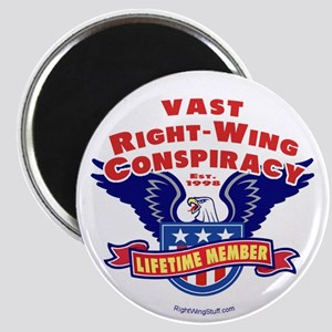 """Vast Right-Wing Conspiracy 2.25"""" Magnet (10 pack)"""