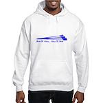 Live to Row - BLUE Hooded Sweatshirt