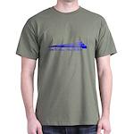 Live to Row - BLUE Dark T-Shirt
