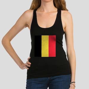 Flag of Belgium Racerback Tank Top