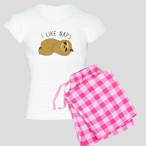 I Like Naps - Napping Sloth Pajamas