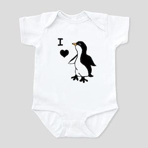 Penguin Draw Infant Bodysuit
