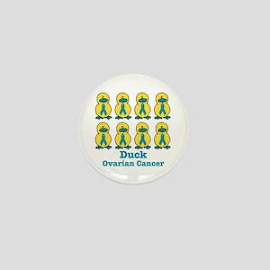 Ducks for a Cause Ovarian Cancer Mini Button